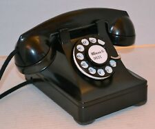 1944 Western Electric Steel Case 302 Telephone Restored - Plug-n-Play!