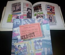 """CLAUDIO BELLETTI """"SOLD OUT"""" ED. APPLAUSI 2012 CATALOGO TICKET CONCERT 166 Pag."""