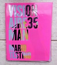 "VISIONAIRE No 35 ""MAN"" 2001 MARIO TESTINO SARAH LUCAS SADIE COLES SOFIA COPPOLA"