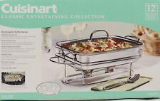 NEW Cuisinart Classic 7BSRT31 12 Rectangular Buffet Chafing Server 5 C 1