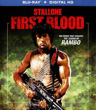 Rambo: First Blood (Blu-ray) • NEW • Sylvester Stallone, Brian Dennehy
