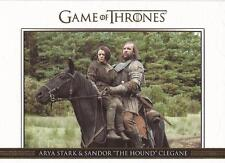 Game of Thrones Season 3 - DL17 GOLD Parallel Relationships Chase Card #122/300