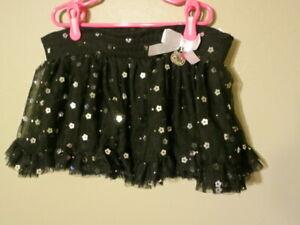 Princess by Hello Kitty Girl's size 5 Tutu Skirt - Black