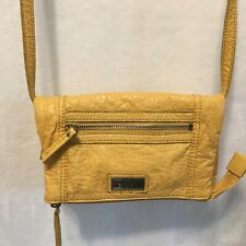 Kenneth Cole Reaction Fold Over Crossbody Purse Bag or Clutch - Optional Strap