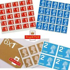 More details for brand new genuine royal mail 1st and 2nd class postage stamps - small or large