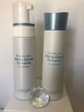 New Elizabeth Arden White Glove Extreme Cleanser And Lotion 200ml Each