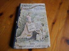 Rare COURS DE LANGUE FRANCAISE E.ROTGES EDITIONS BELIN 1897  bon état d'usage