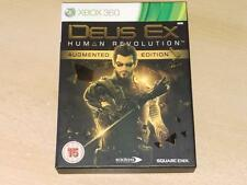 DEUS EX HUMAN REVOLUTION limité Augmented édition PAL UK XBOX 360