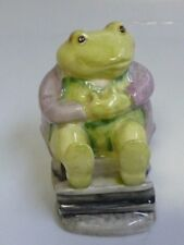 Beatrix Potter Mr. Jackson Figurine By Beswick BP-3a - Green Toad