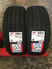 2 X 205 55 16 RIKEN MICHELIN MADE 205/55ZR16  HIGH PERFORMANCE NEW TYRES
