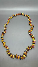 """Beautiful Genuine Baltic Amber Necklace for Girl/Woman MIX """"Chips"""""""