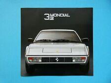 Prospekt / Katalog / Brochure Ferrari Mondial 3,2  09/85