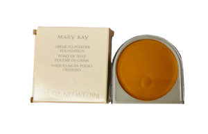 Mary Kay Creme To Powder Foundation Bronze #548600 .35 oz New In Box Free Ship!