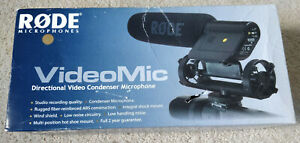 RØDE Microphones VideoMic Professional Compact Directional on-Camera Microphone
