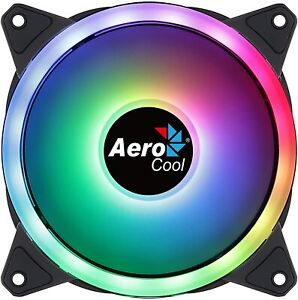 AeroCool Duo 12 120mm Addressable RGB Computer Case Fan