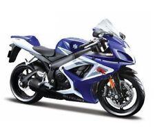 Maisto 1/12 Suzuki GSX-R750 Blue Motorcycle Diecast Model Blue (31153)