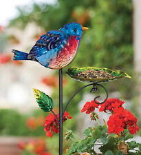 Bird Feeder Stake - Bluebird - REGAL ART & GIFT 11971