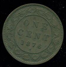 1876H Canada Large Cent Queen Victoria   R108