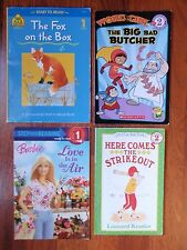 Lot of 4 Step into Reading / Learning to Read Books Step 1 & 2