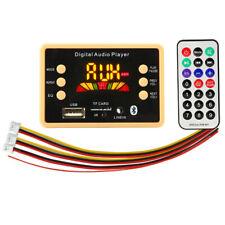 Bluetooth 5.0 MP3 Decoder Decoding Board Module 5 v 12v Car USB MP3 Playe TDss