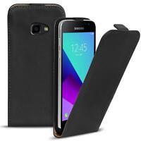 Flip Case Samsung Galaxy XCover 4 Hülle Pu Leder Klapphülle Handy Tasche Cover
