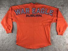 Auburn Tigers War Eagle Spirit Long Sleeve T Shirt S Orange Jersey University