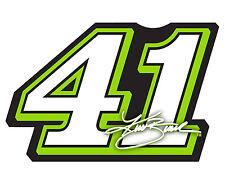 NASCAR #41 Kurt Busch Jumbo Number Magnet-NASCAR Large Magnet-NEW for 2016!