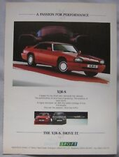 Jaguar XJR-S Original advert No.1