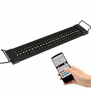NICREW Planted LED Aquarium Light, 24/7 Automated Aquarium Lighting, LED Fish