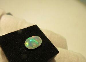 Edel Opal Äthiopien facettiert 9x6,7 mm 1.2 ct. U22358