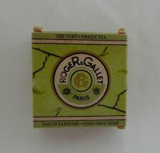 Roger & Gallet perfumed soap Green Tea small 0.9 oz 25 g made in France