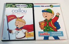 Caillou DVD Lot Of 2 Caillou's Playschool Adventures & Caillou's World Of Wonder