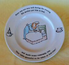 1991 Frederick Warne Wedgwood China Beatrix Potter Child's 7� Peter Rabbit Plate