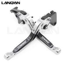 For Yamaha TDM 900 TDM900 2012-2014 2013 CNC Adjustable Brake Clutch Levers Set
