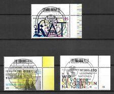 Bund Mi.Nr. 3547-3549 (2020) gestempelt mit ESST (Bonn)/Neuausgaben Juni