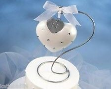 Wilton Rhinestone Ornament Wedding Cake Topper 120-204