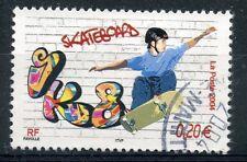 STAMP / TIMBRE FRANCE OBLITERE N° 3691 SPORT DE GLISSE / SKATEBOARD