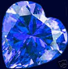 19,20ct Royal Blue Natural Zircon - Heart shape - IF