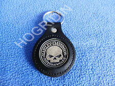 Harley Davidson willie g skull biker key chain motorcycle car truck softail dyna