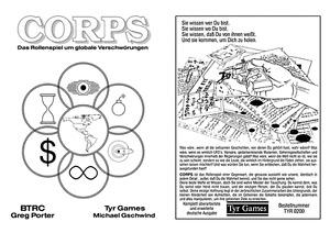 CORPS - dt Rollenspiel um Verschwörungen, Außerirdische