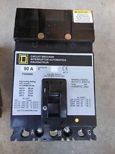 Square D Fh36090 3pole 90amp 600v circuit breaker 1 yr warranty! Hi Aic