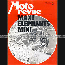 MOTO REVUE N°2059 LINTO 500 GRAND PRIX LES ELEPHANTS SALON LONDON / LONDRES 1972