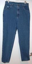 VINTAGE BLUE STRETCH DENIM WOMENS STRAIGHT LEG LEE JEANS 12 MEDIUM BARELY WORN