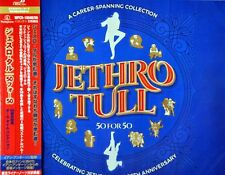 Jethro TULL 50 For 50 JAPAN Plastic Case SHM-CD x3 WPCR-18048~50 NEW SHM CD x3