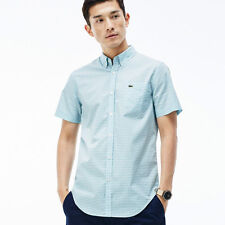 Lacoste Slim Button Down Casual Shirts & Tops for Men