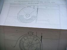 sciences industrie JOBARD nov 1850 barrage roues hydro pneumatique Girard