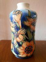 "Moorcroft vase 98/11- Spiraxia - Emma Bossons - 11"" / 27cm Tall"
