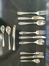 Children's Stainless Steal Cutlery Sets x3 (Robert Welch) RRP £52.