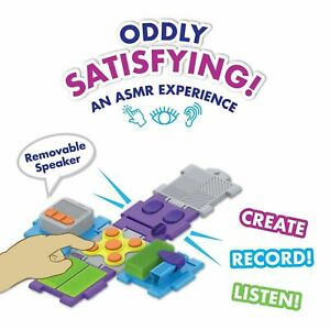 Sensory FX ASMR Recorder Cube Oddly Satisfying Sounds Toy Fidget