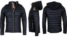 Geographical Norway Herren Softshelljacke Steppjacke Mix Parka HerbstJacke Jacke